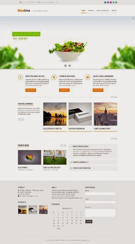Contoh Web Profil Perusahaan