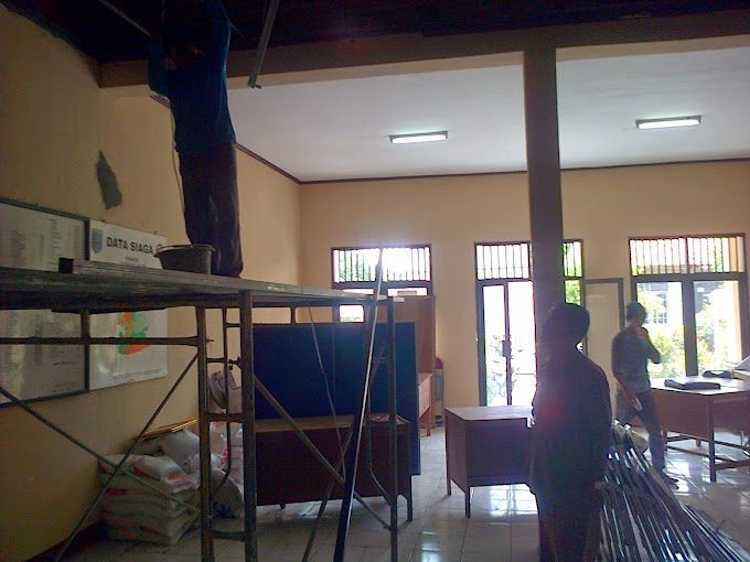 Kantor Kelurahan Meruyung Direhab