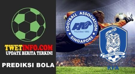 Prediksi Singapore U19 vs Korea Republic U19