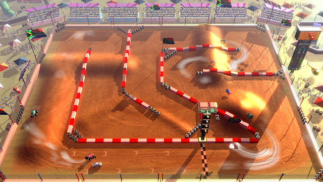 Conduce los 4x4 de Rock'N Racing Off Road DX también en Xbox One