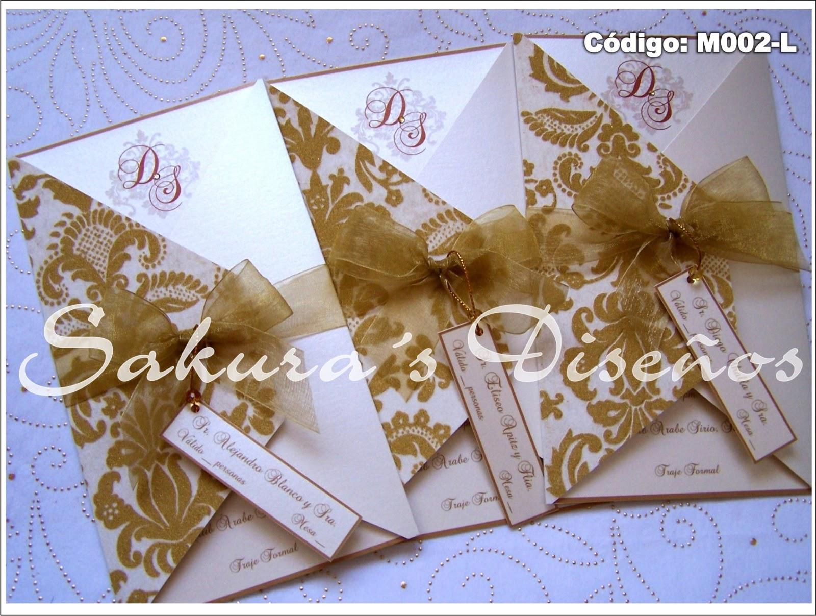Tarjetas para boda sakura s dise os - Disenos tarjetas de boda ...