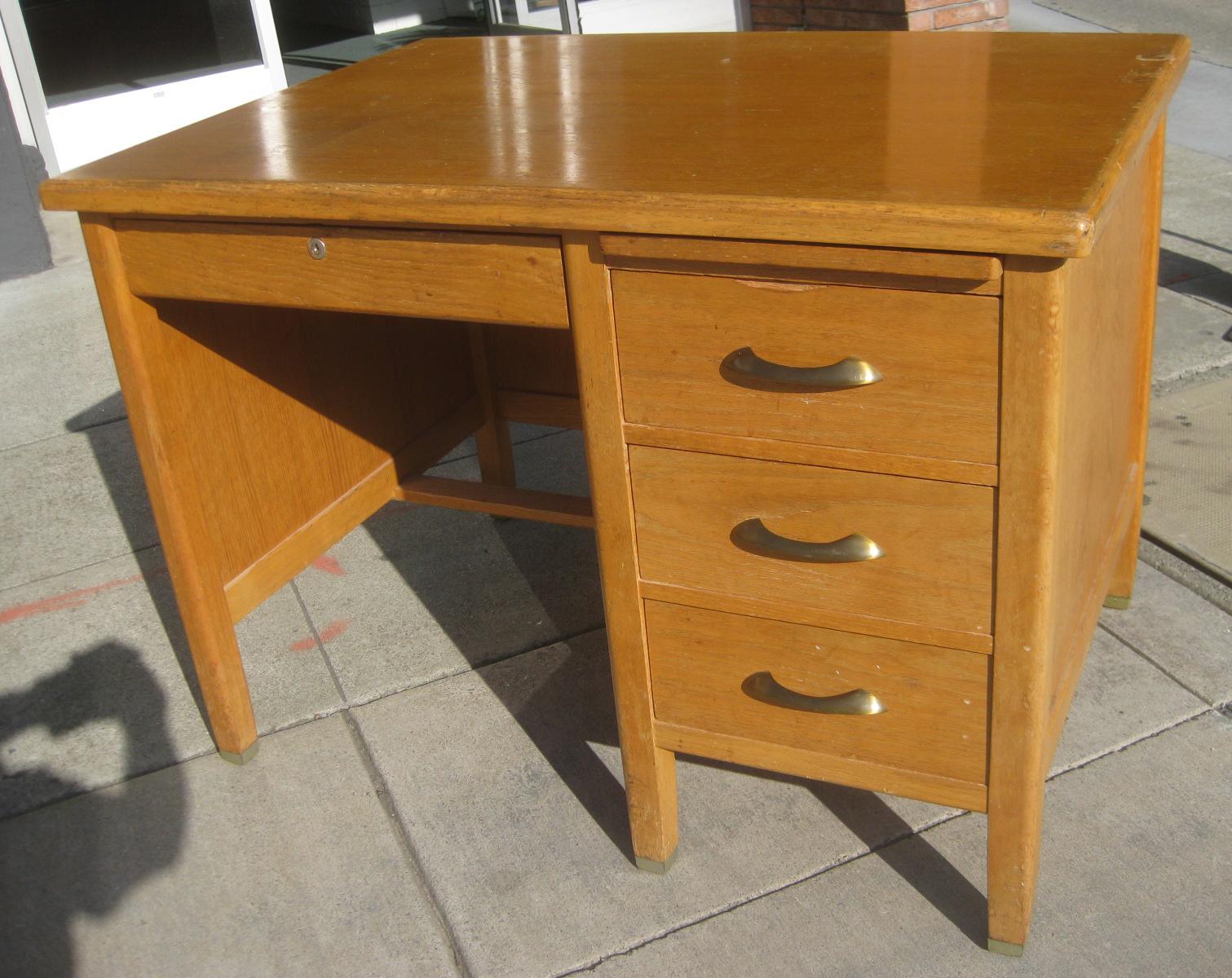 Uhuru furniture collectibles sold small oak teacher s