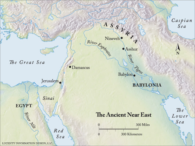 The Ancient Near East Map5