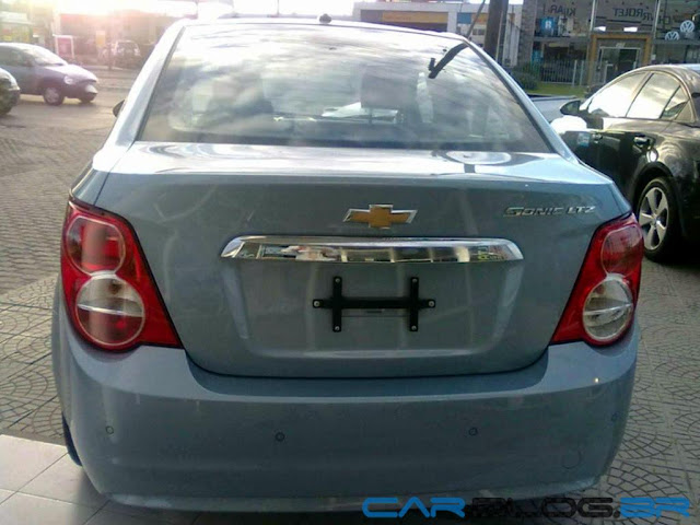 Chevrolet Sonic 2013 sedan traseira