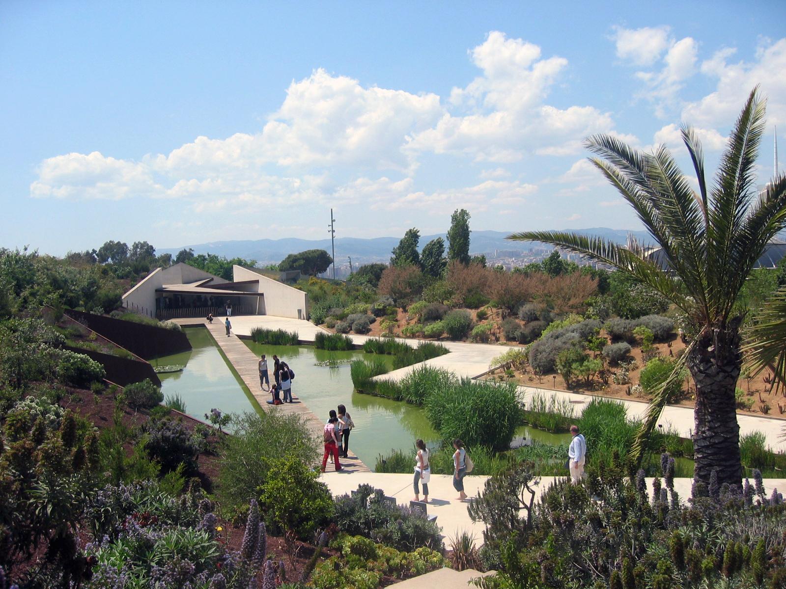 Sensation apartments barcelona botanical garden barcelona for Barcelona jardin