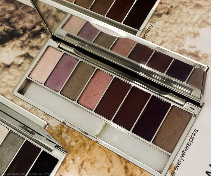 Clinique All About Shadow 8-Pan Neutral Eyeshadow Palettes- Wear Everywhere Pinks - Swatches