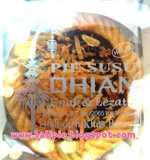Harga Satuan Pie Susu Khas Bali