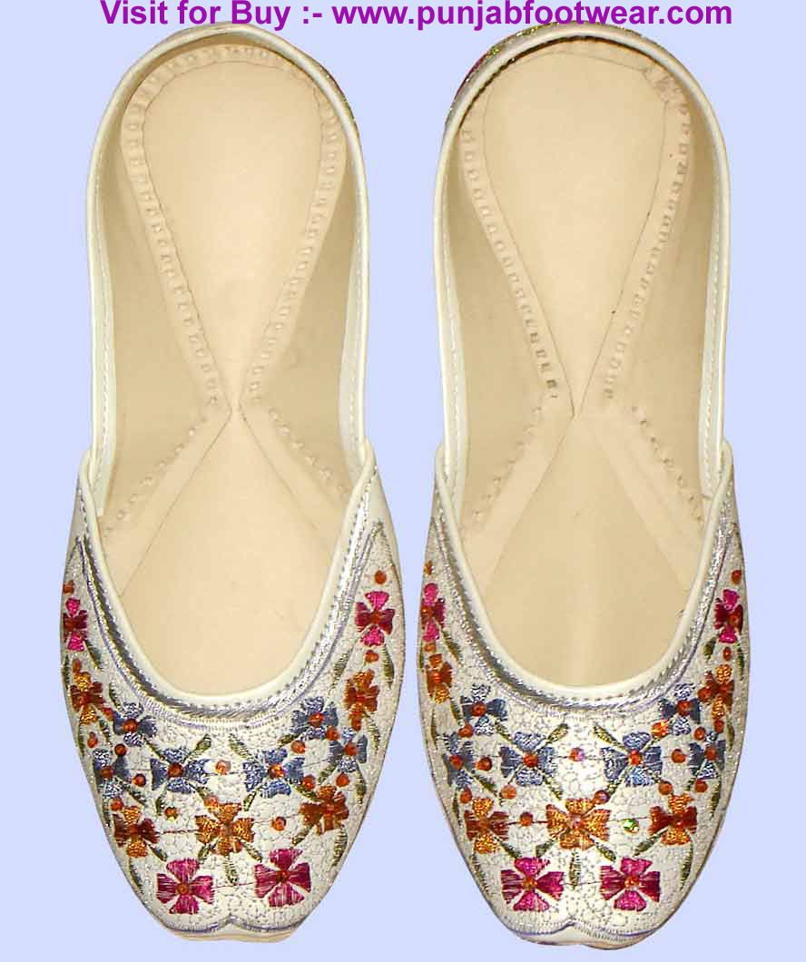 beaded shoe designer shoe indian khussa shoes