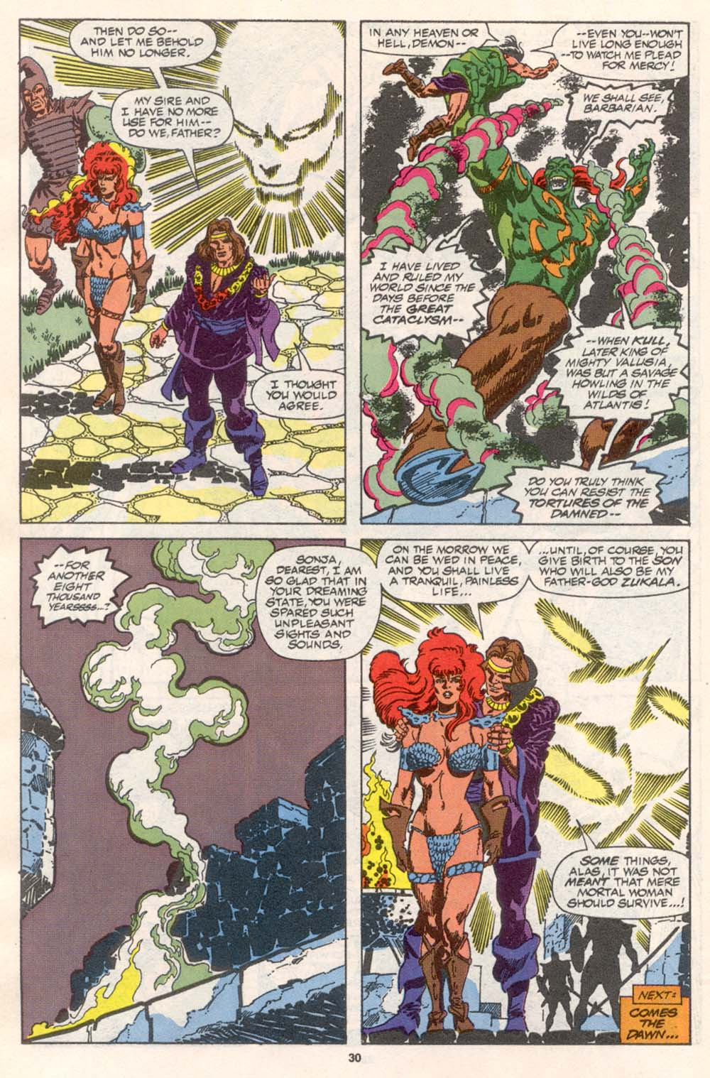 Conan the Barbarian (1970) Issue #242 #254 - English 23