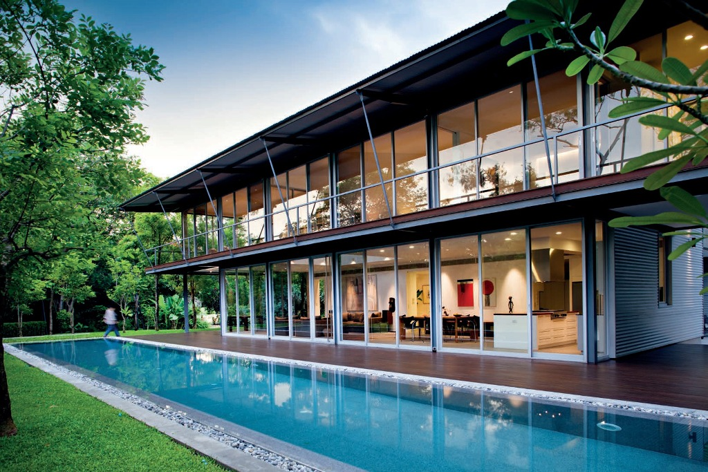 DKFF House Tropical Architecture