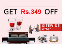 Pepperfry : Get Rs. 200 off on Rs. 500 (New Users), Rs.250 off on Rs. 1000 (All Users) + 1% Off: buytoearn