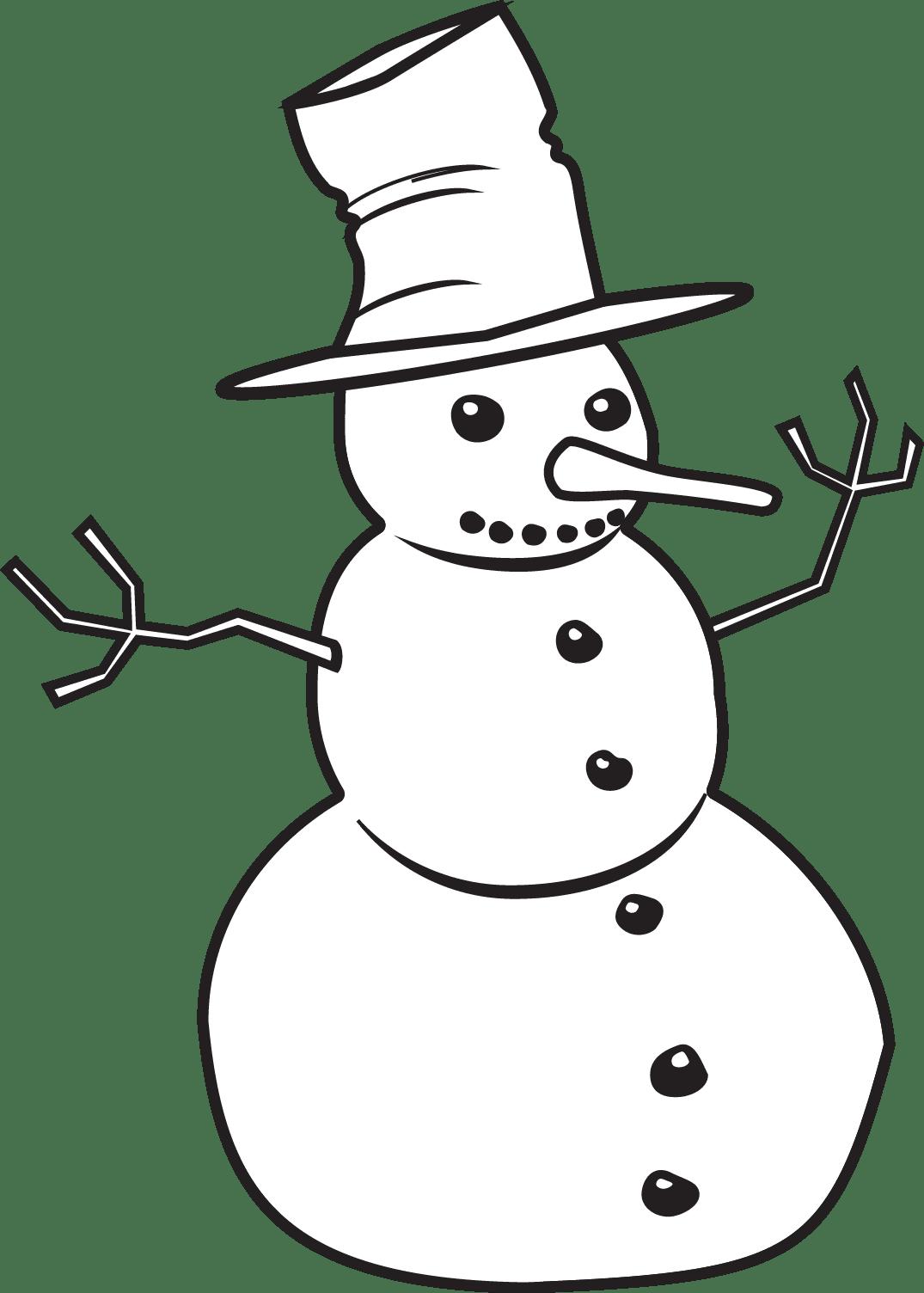 Printable Snowman/page/2 | New Calendar Template Site