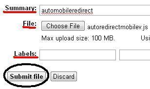 Form Upload