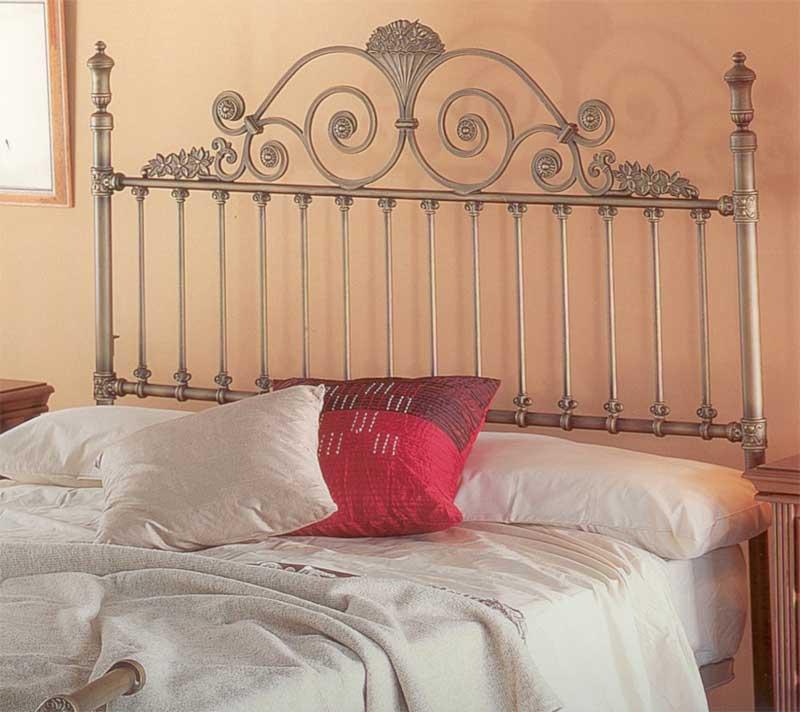 Muebles de forja cabeceros de aluminio decorados - Cabeceros cama de forja ...