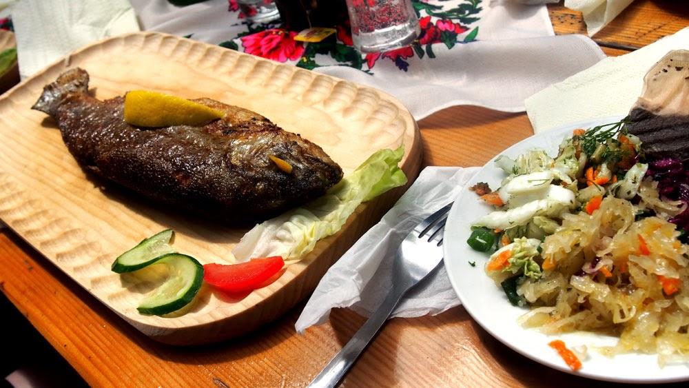 Fit Bootcamp -viikon lounas: ihanaa kalaa!