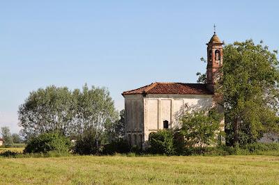La Cappella San Pietro at Augusta Bagiennorum