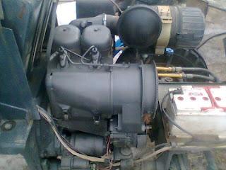 """Двигатель трактора ХТЗ-3510 F2L 511, UAB """"ORUVA"""" JRRO"""