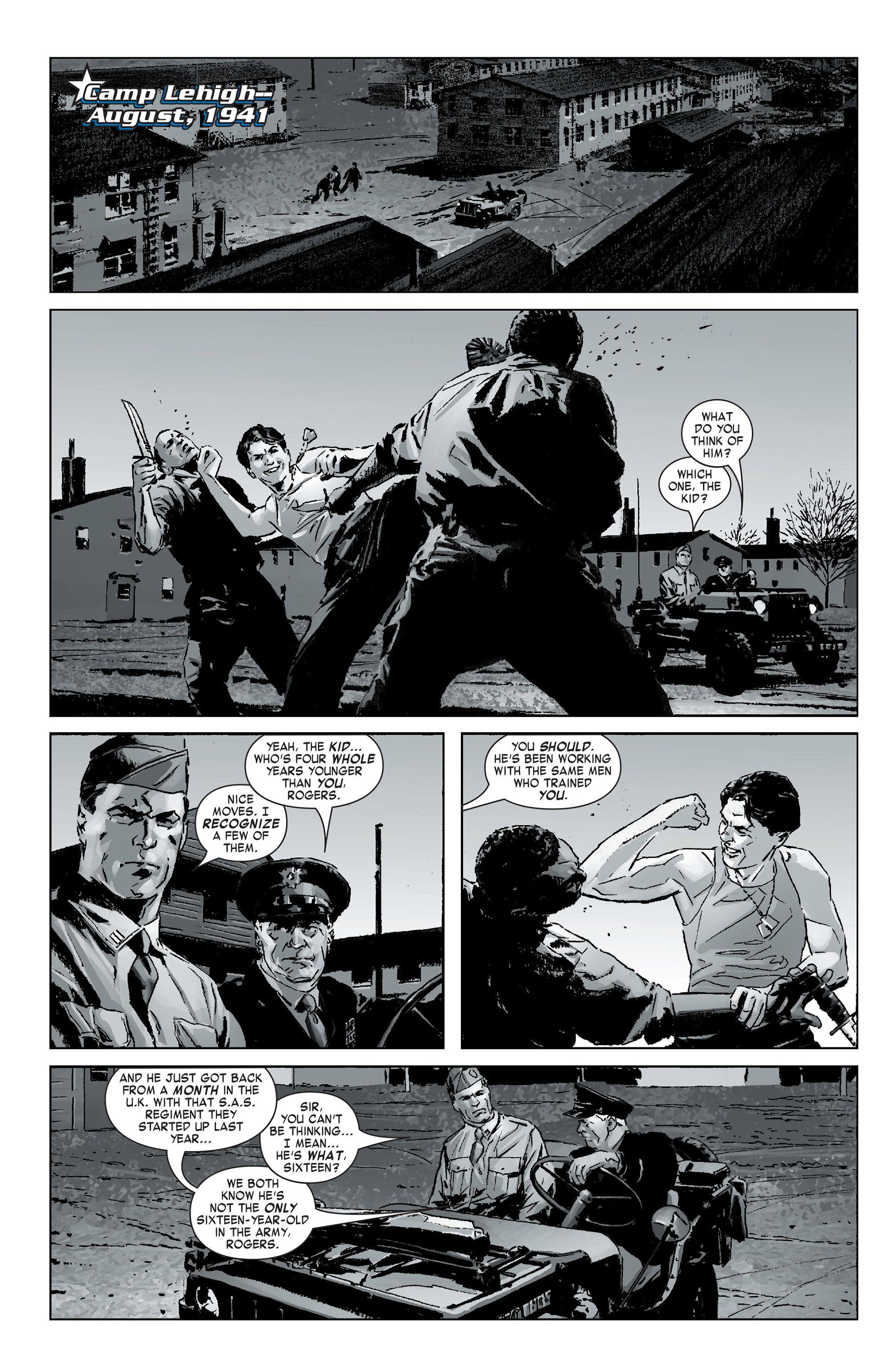 Captain America (2005) Issue #12 #12 - English 7