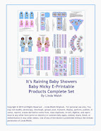 Baby Nicky E-Printable Products Complete Set