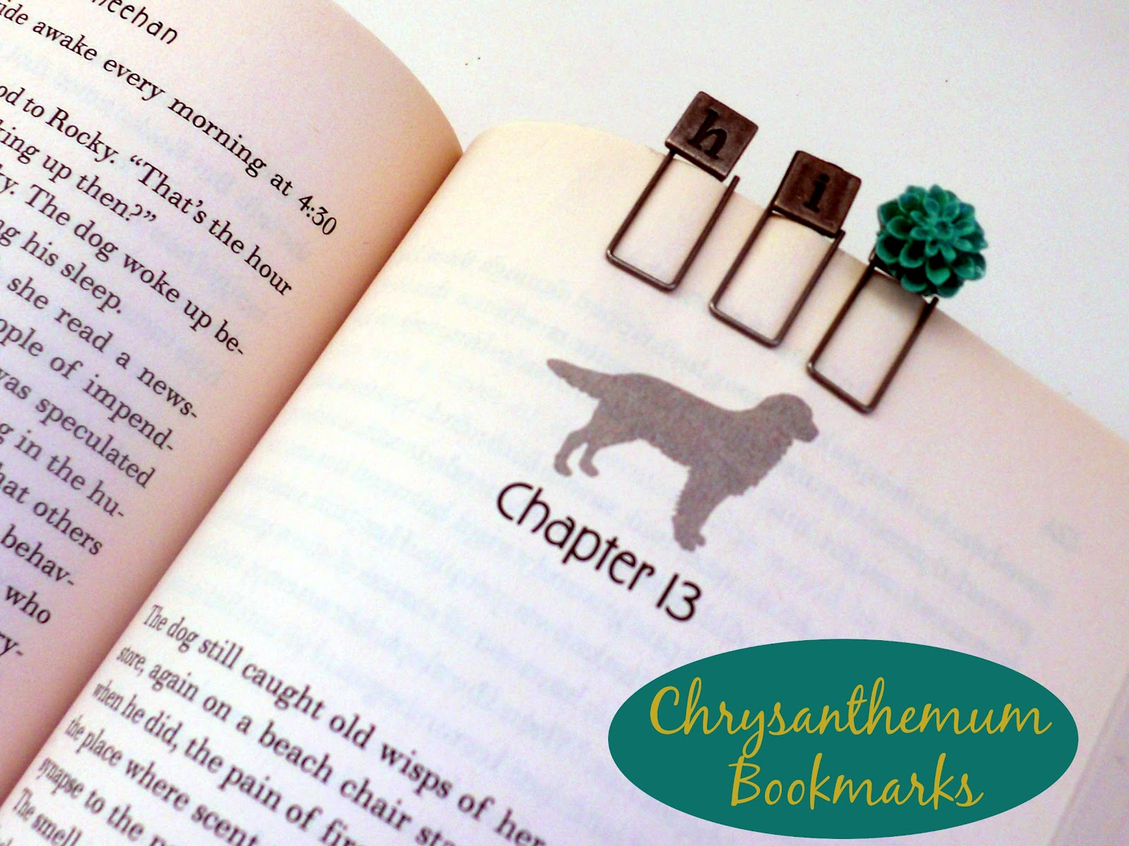 chrysanthemum-bookmarks
