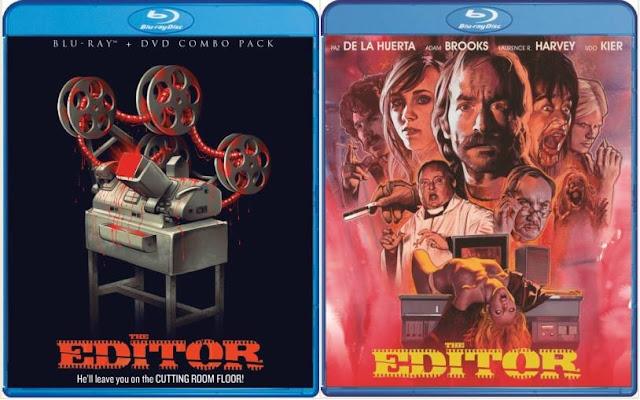 The Editor Blu-ray Scream Factory