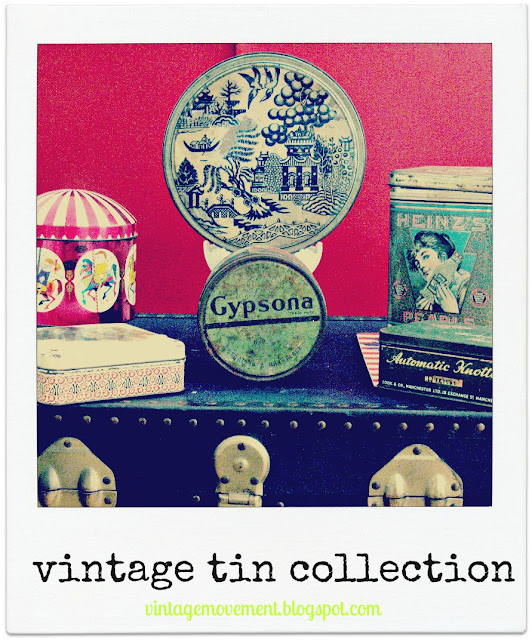 Vintage Tin Collection