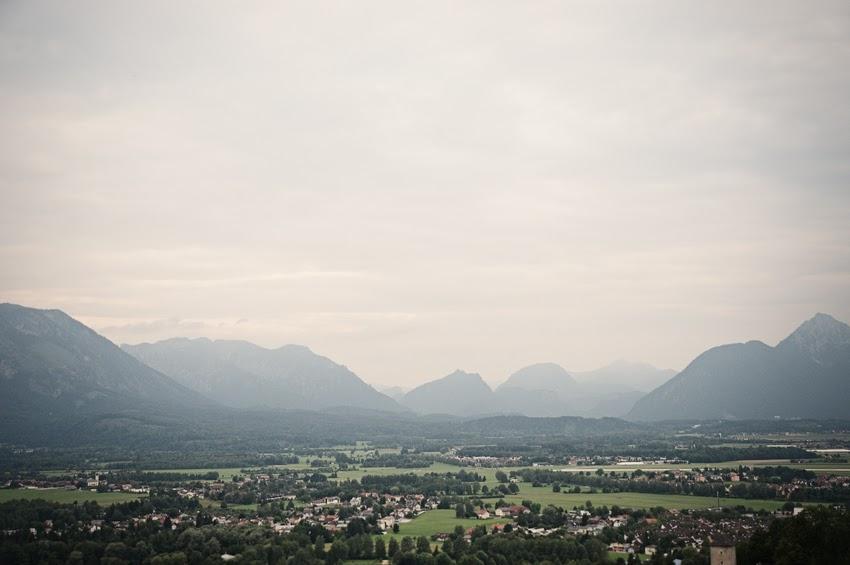 dovolená Austria Rakousko road trip