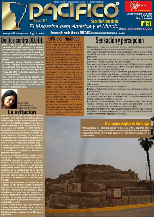 Revista Pacífico Nº 151 Arqueología