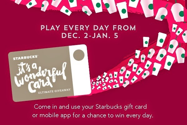 Starbucks.com/Play: Starbucks Play and win Starbucks For Life Giveaway
