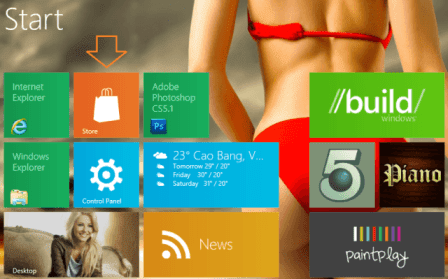 How to Install Windows 8 Apps from Windows Store