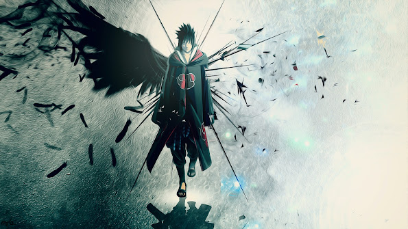 sasuke uchiha wings image picture hd anime wallpaper