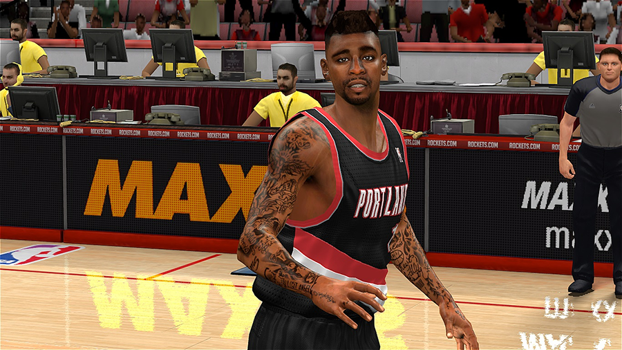 Dorell Wright Hairstyle NBA 2K14