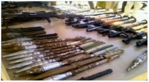 Military Discovers Hidden Weapons Of Terrorists In Church