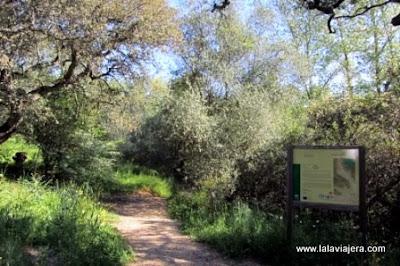 Sendero Botánico Huerta del Rey, Hornachuelos