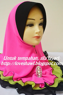 LAYER ALA FAREEDA CHIFFON AWNING (BATCH 9)~ | LoVe ShAwL EnTeRpRiSe