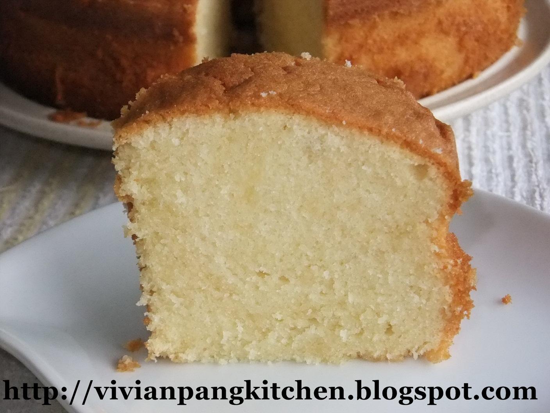 Butter Pound Cake Recipe