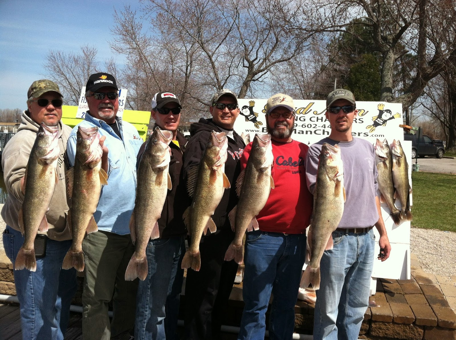 Lake erie walleye fishing reports south dakota guys for Lake erie walleye fishing report