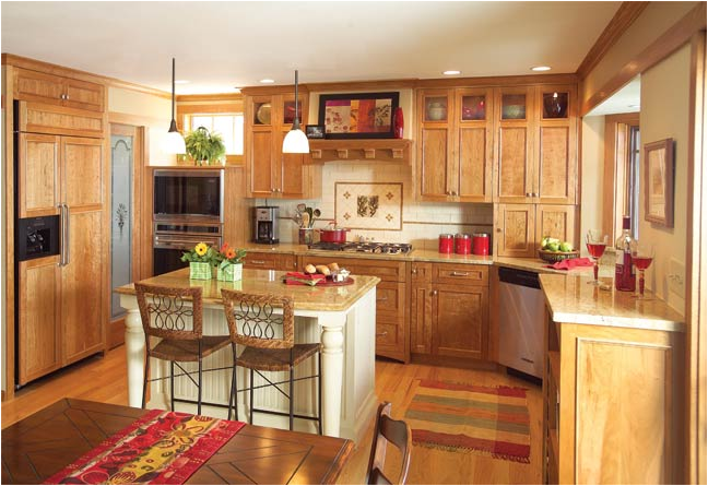 Arts and Crafts Kitchen Design 648 x 445