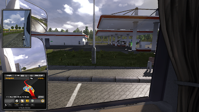 Euro Truck Simulator 2 at station