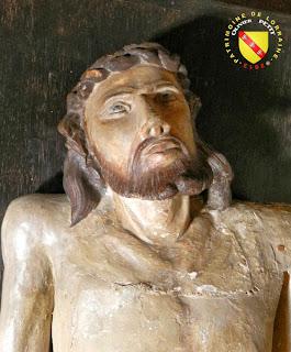 RAMBERVILLERS (88) - L'église Sainte Libaire - Mise au tombeau : Chrits