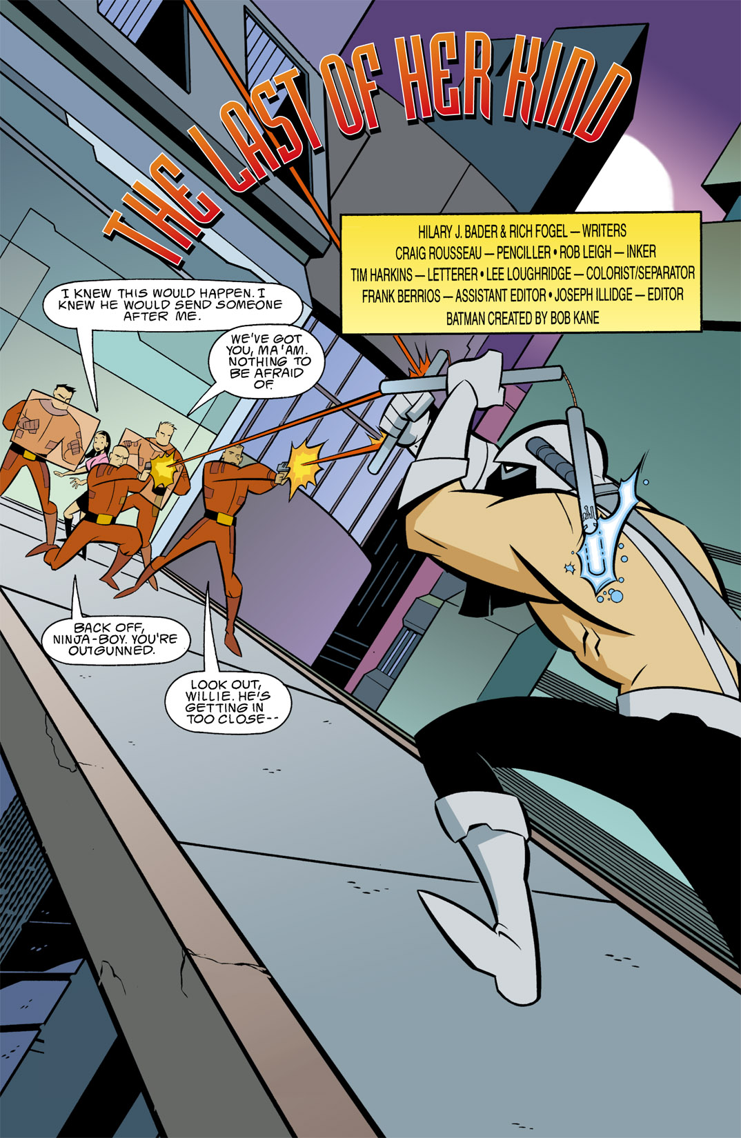 Batman Beyond [II] Issue #9 #9 - English 2