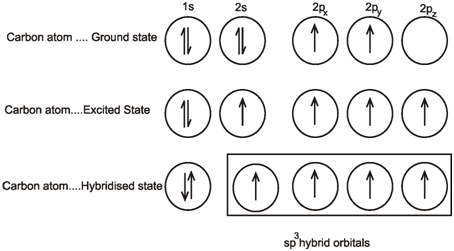 how to find hybridization of a compound