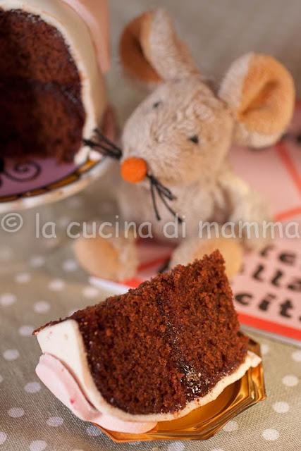 mud cake e pdz...la prima torta decorata della figliola