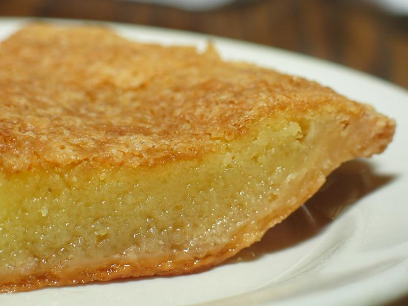 Traditional English Chess Pie
