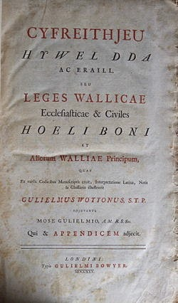 Leges Wallicae