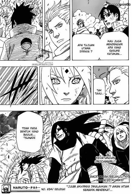 Komik Naruto 634 Bahasa Indonesia halaman 16
