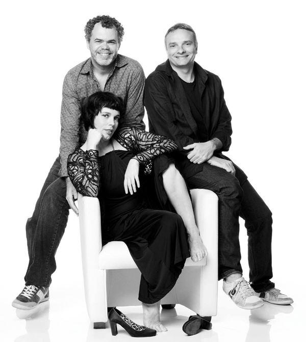 Mariana Baltar, Luiz Flavio Alcofra e Mauro Aguiar