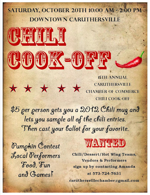 caruthersville chamber of commerce  15th annual chili cook