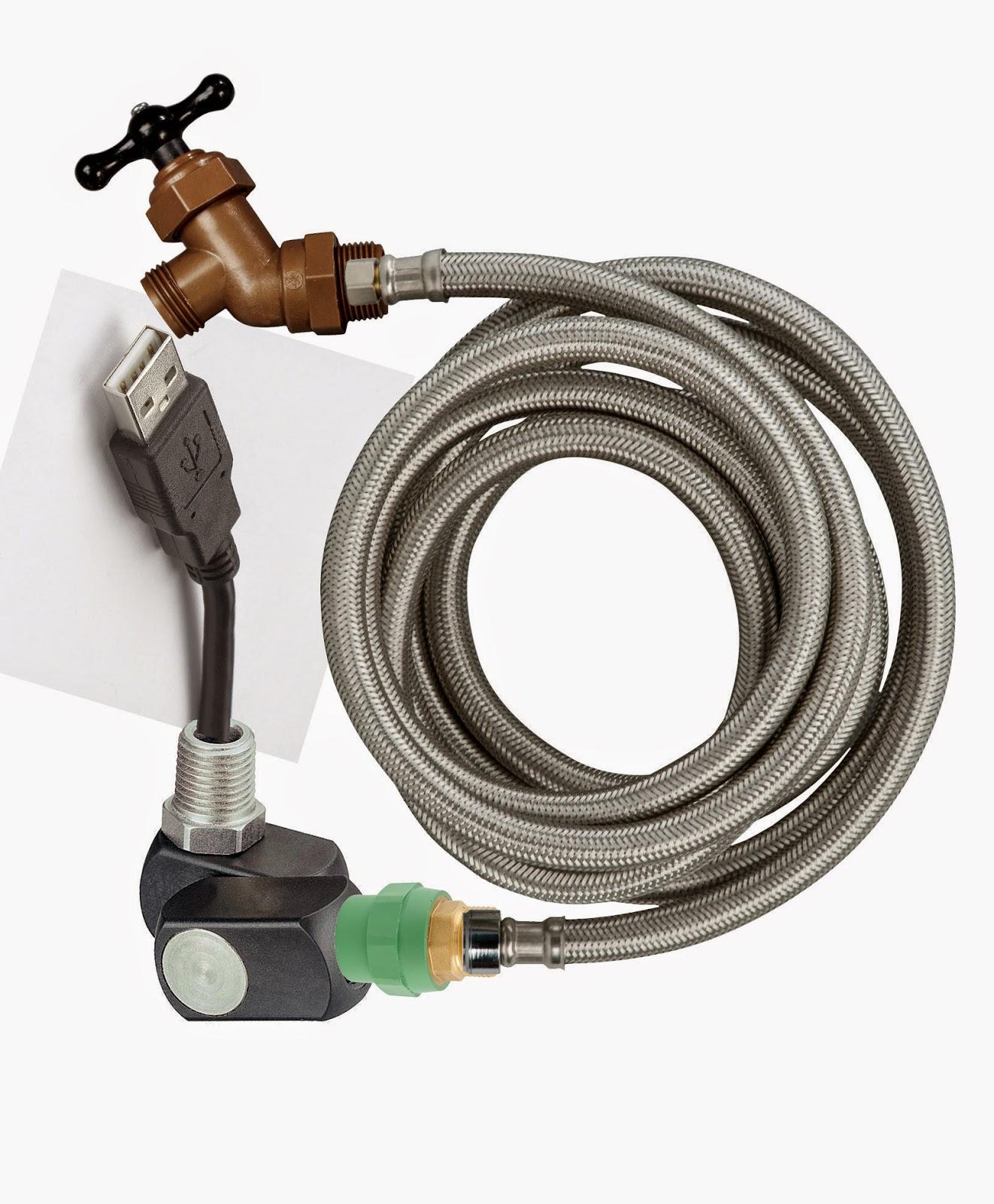 USB plug-n-pour water generator
