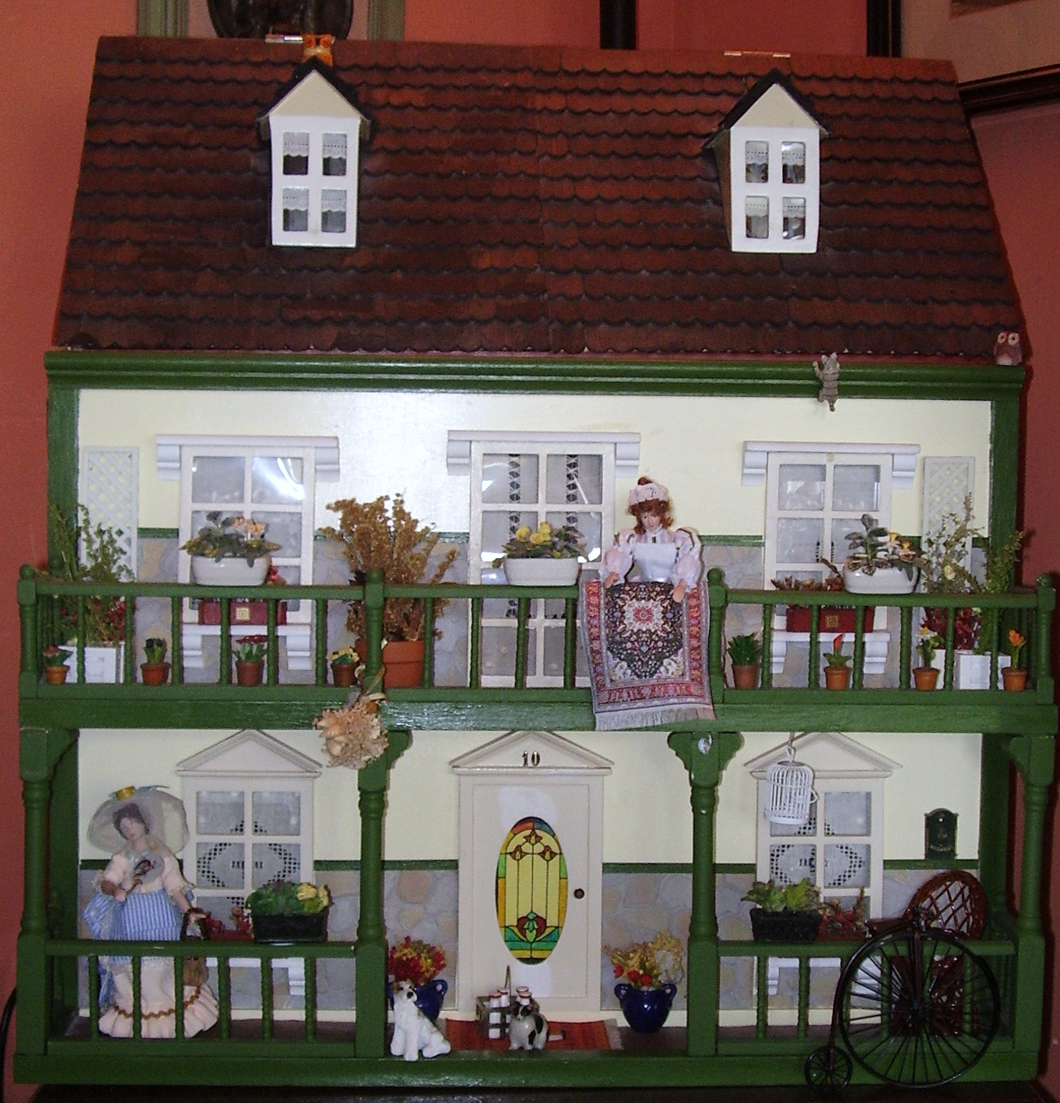 Nekane 39 s cottage las casas de mu ecas - Mi primera casa ...